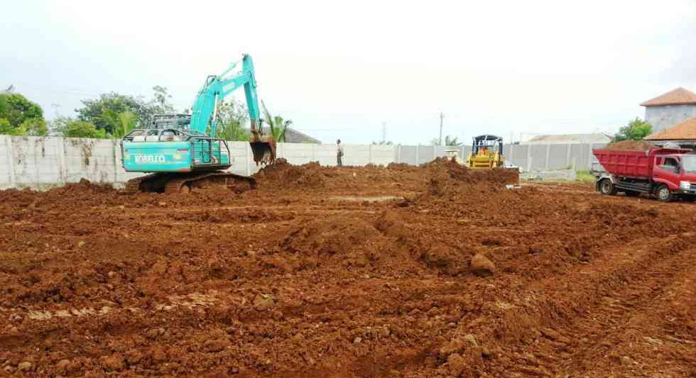 Earth Work Landleveling PT. KNSS